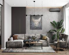 Apartment Pansʹkyy Ostriv on Behance Living room design