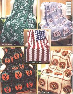 Holiday crochet afghans