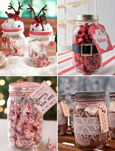 Purple Christmas, Xmas Gifts, Mason Jars, Packaging, Cute Things, Creative Gifts, Decorated Cookies, Flower, Creativity