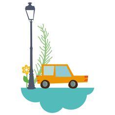 Los coches por las nubes en el Mundo ao Revés