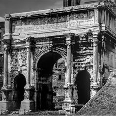 Arch of Septimius Severus, Roman Forum, Rome.