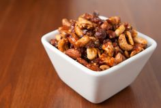 Bacon flavored roasted almonds -OhMyGoodness! :D