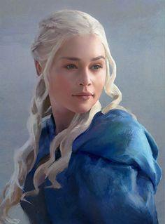 ArtStation - Daenerys, Bruce Kelly