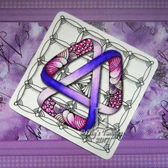 #zentangle #art #abstract #inkart #doodle #design #draw #shading #lilymoon #lilystangles #floral #color #DC300 #moebius #moebiusawareness