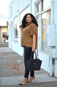 New post on www.Girl With Curves.com: Sweater Weather