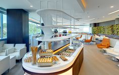 SkyTeam has just opened a new lounge at Istanbul Ataturk International Airport (IST) which boasts a capacity of seating of around ninety guests and offers many perks to those flying First and Business Class on SkyTeam Airlines. Airport Lounge, Office Lounge, Airport Hotel, Istanbul Airport, Istanbul Hotels, Virgin Atlantic, Priority Pass, Champagne Moet, Lounge Areas