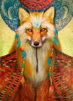 Aimee Stewart  | #animal_illustration #fantasy_illustration #aimee_stewart