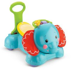 Fisher-Price 3-in-1 Bounce, Stride and Ride Elephant - Walmart.com
