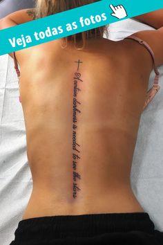 Girl Spine Tattoos, Wörter Tattoos, Spine Tattoos For Women, Dope Tattoos, Dream Tattoos, Pretty Tattoos, Mini Tattoos, Finger Tattoos, Body Art Tattoos