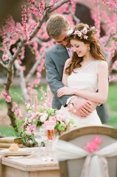 Pink and Cream Outdoor Romantic Bridal Inspiration | photography by http://www.jenfariello.com