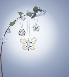 #Jewelry by Laura Medine, #photography by Antfarm Photography.  #lauramedine #moonstone #butterfly #nature #antfarm #artmix