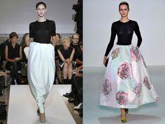 INSPIRATION Raf Simons for Jil Sander SS//2011... Raf Simons for Christian Dior SS//2013