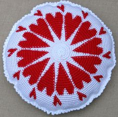 pillow...I just began learning tapestry crochet would love to create this.