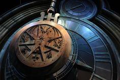 museo gogwarts clock