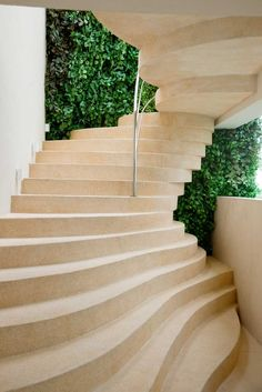 Captivating Brasil Concrete Staircase Nice Look