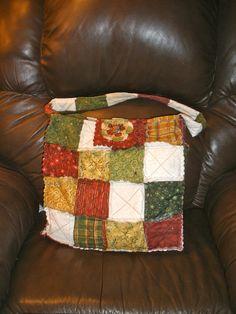 Rag Quilt Bag