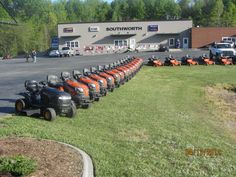 Some Husqvarna tractor inventory
