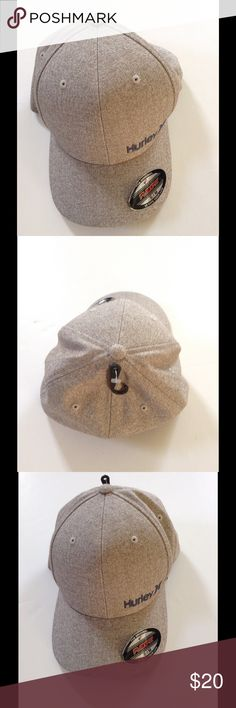 805f74e5 Hurley Hat New with tags, Hurley hat. Strechy Flex fit. Color: Sand