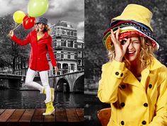 Leuke regenjas | happyrainydays - kleurrijke regenjassen voor haar