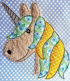 Freebie, Stickdatei, Pferd, Pony, Einhorn, Horse, Embroidery, free, Doodle, Bernina, Aurora 450
