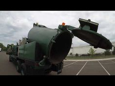 4K Review 2002 Sterling Vac-Con Sewer Vacuum Truck Excavator Virtual Tes...