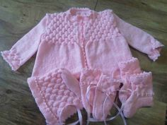 pink layette