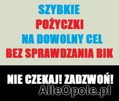 Tania pożyczka (Opole)  http://www.alleopole.pl/