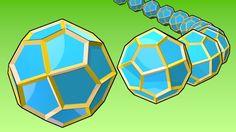 Pentagonal icositetrahedron / #HVGAW #nHD #Catalansolid