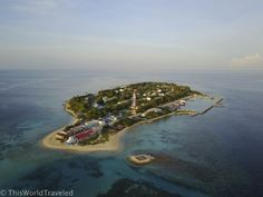 World Travel Guide, Travel Guides, Maldives Travel, Island Nations, Crystal Clear Water, Small Island, Cool Places To Visit, Tourism, Budget