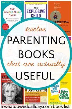 Mom's Bookshelf, Vol 8: Parenting Edition
