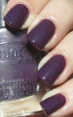 Color Club Fall 2012 In True Fashion Collection: By Design