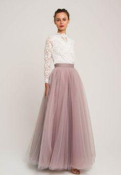 Tulle Wedding Skirt, White Tulle Skirt, Tulle Skirt Dress, Maxi Skirt Outfits, Bridal Skirts, Pleated Skirt, Long Tulle Skirts, Maxi Skirt Formal, Long Tutu Skirt