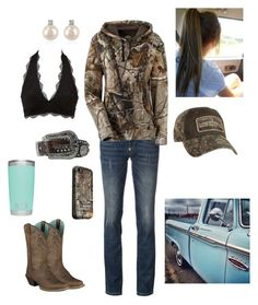 """Road tripp'n"" by babyinblue on Polyvore featuring Philipp Plein, Ariat, M&F Western, Charlotte Russe, Forzieri and LifeProof"