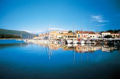 Fiskardo Town at the North East tip of Kefalonia...one of our favourite spots!
