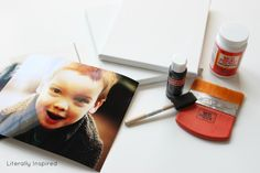 Canvas Photos Reprised.  OP says: I hope this post will clear up any and all questions that you may have about the project. It really is very simple and you are left with fabulous results.