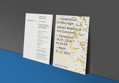 Adrian & Iris Wedding Invite | SP–GD