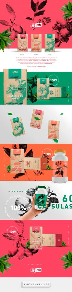 B-lab Packaging by Gonzalo Urquieta | Fivestar Branding Agency – Design and Branding Agency & Curated Inspiration Gallery #packaging #package #packagedesign #design #designinspiration