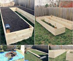Raised Keyhole Garden Bed Tutorial
