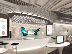 The Bionic Bar on Royal Caribbean's Quantum of the Seas will feature a robot bartender.