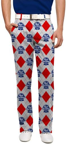 Golf Pants - Go Golfing And Enhance Your Game With These Tips Golf 6, Play Golf, Mens Golf, Loudmouth Golf Pants, Used Golf Clubs, Pabst Blue Ribbon, Slim Fit Pants, Golf Fashion, Golf Outfit