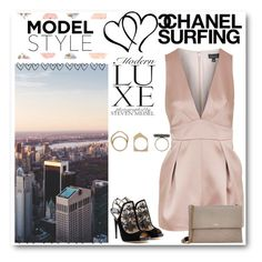 """""""Untitled #1629"""" by nybabe96 ❤ liked on Polyvore featuring Topshop, Iosselliani, Jimmy Choo and Lanvin"""