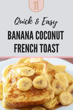 Easy Coconut Banana