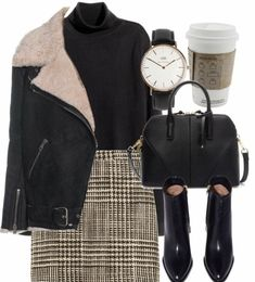 Autumn Style H&M, Acne Studios, Missoni, Zara, Daniel Wellington and clothing Mode Outfits, Casual Outfits, Fashion Outfits, Fashion Trends, Dress Fashion, Fashion Bags, Fashion Ideas, Jackets Fashion, Black Outfits