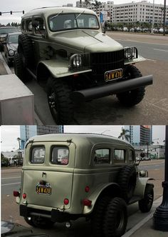 An early war dodge 1/2 ton carry all military truck built in 41 and early 42