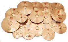 PAISTE 2002 series cymbals