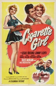 Movie poster - Cigarette Girl (1947)
