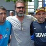 Cantona ed il documentario TV sul calcio argentino, Boca vs River » Football a 45 giri | Football a 45 giri