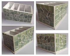 Mosaico pastilha de vidro