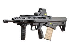 The ST Kinetics Bullpup Multirole Combat Rifle is a prototype Singaporean assault rifle. The BMCR is stated to be the shortest bullpup rifle in the world. The weapon was projected to be distributed to military and law enforcement agencies in early 2015, but as of 2016, the rifle is still in the prototype stage.