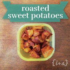 21 Day Fix ||paleo|| Roasted Sweet Potatoes